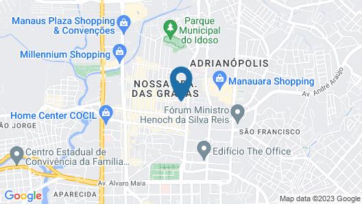 Residencial Easy Manaus Map