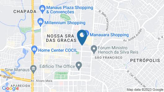Quality Hotel Manaus Map