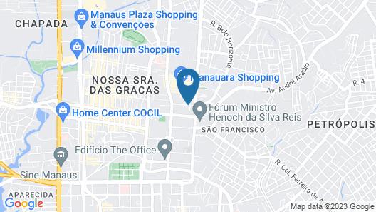 Da Vinci Hotel & Conventions Map