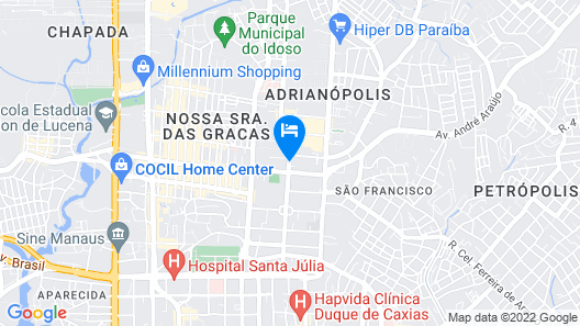 Mercure Manaus Hotel Map