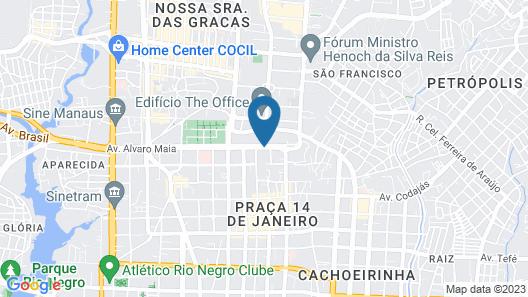 Boulevard Slaass Flat Hotel Map