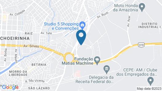 Novotel Manaus Map