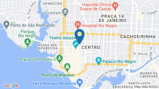 Hotel do Largo Map