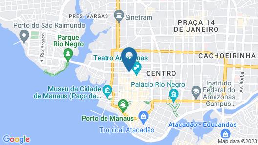 Hotel Villa Amazonia Map