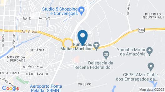 Comfort Hotel Manaus Map