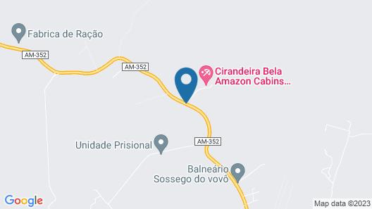 Cirandeira Bela Amazon Cabins Map