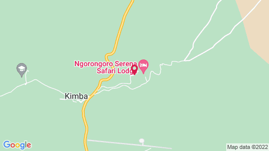Ngorongoro Serena Safari Lodge Map