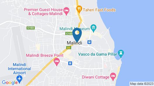 Casuarina Villas Resort Map