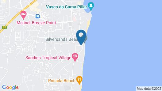 Silver Rock Hotel Map