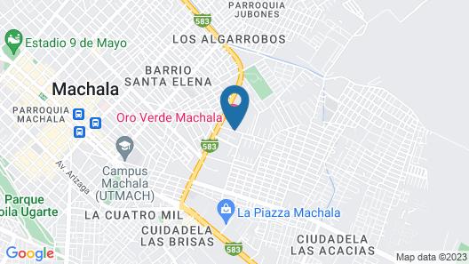 Oro Verde Machala Map