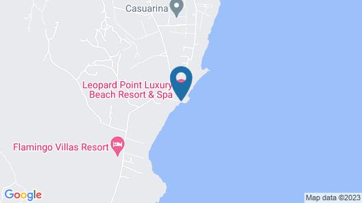Leopard Point Luxury Beach Resort & Spa Map