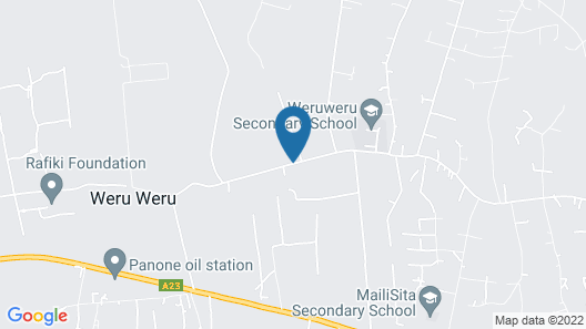 Weru Weru River Lodge Map