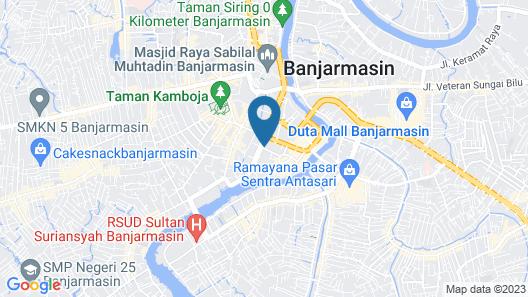 Hotel 88 Banjarmasin Map