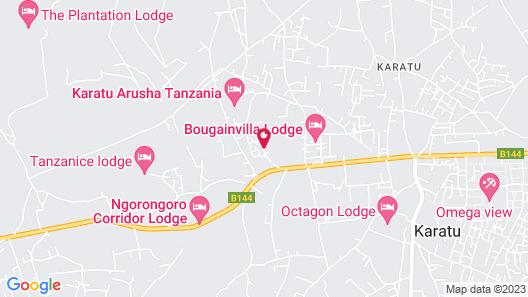 Acacia Farm Lodge Map