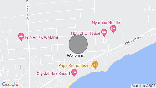 Watamu Sunflower House Map
