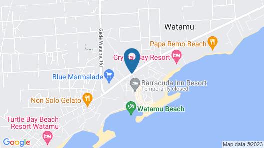 Jacaranda Beach Resort Map