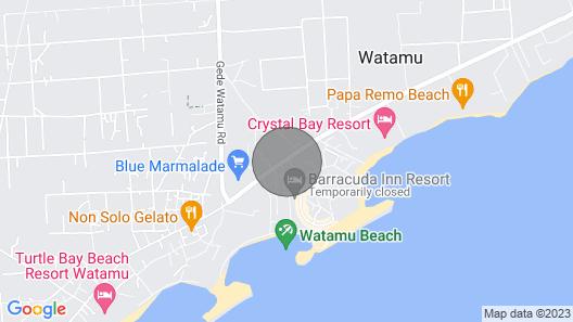 Breeze view Villa Watamu Map