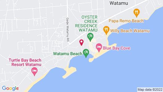 Aquarius Club International Resort - All Inclusive Map