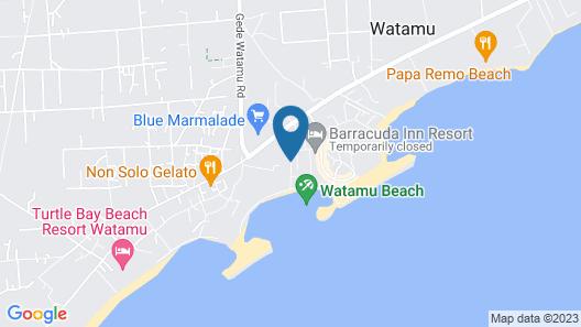 Aquarius Club International Resort Map