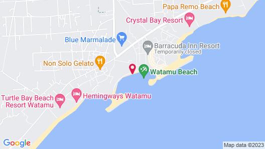 Friendly and Peaceful House in Watamu, Kenya Map