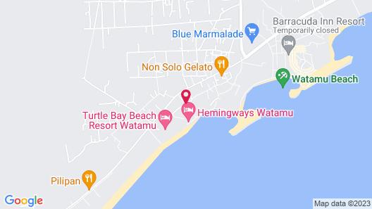 Mvuvi Lodge - Kite House Map