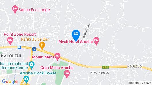 L'Oasis Lodge & Restaurant Map