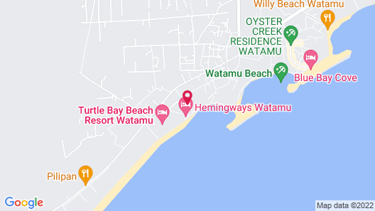 Hemingways Watamu Map