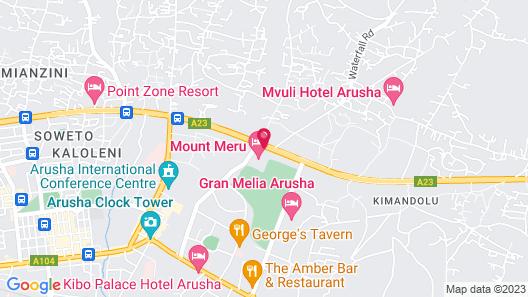 Mount Meru Hotel Map