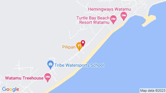 Villas Watamu Resort Map