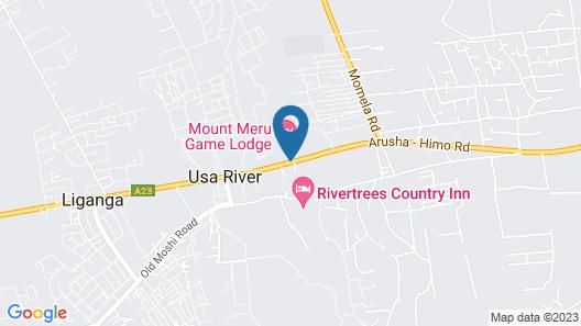 Mount Meru Game Lodge Map