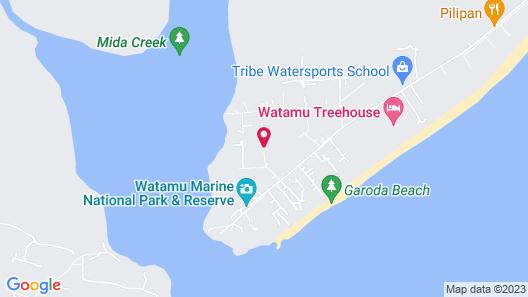 Dar Meetii Villa Watamu 4 Bedrooms+private Swimming Pool Map