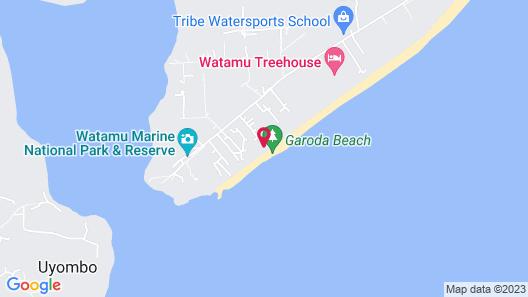 Kobe Suite Resort Map