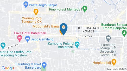 Hotel Rahayu Syariah Map