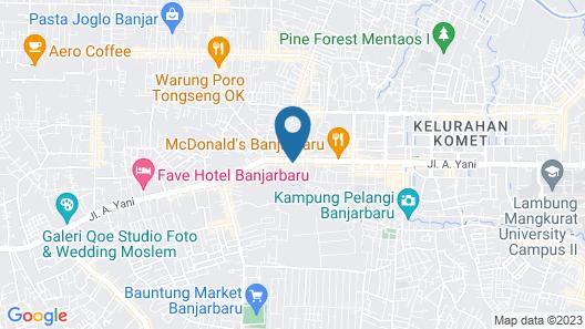 Hotel Banjar Permai Map