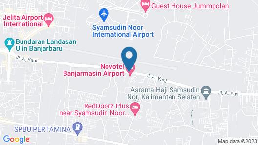 Hotel Novotel Banjarmasin Airport Map