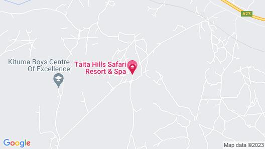 Taita Hills Safari Resort & Spa Map