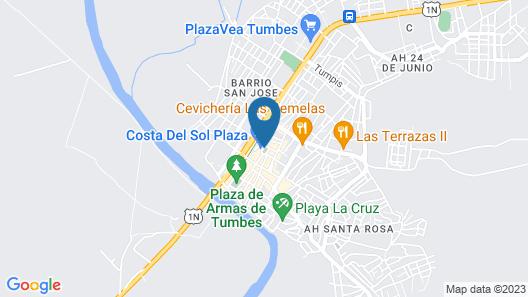 Wyndham Costa del Sol Tumbes Map