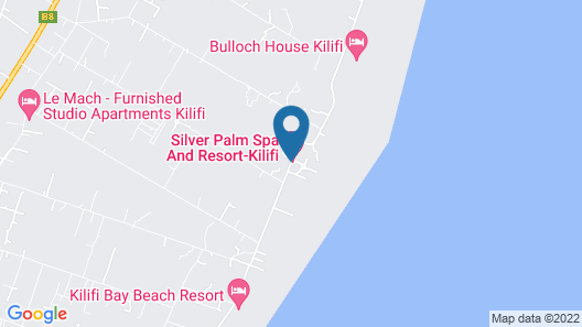 Silver Palm Spa and Resort Map