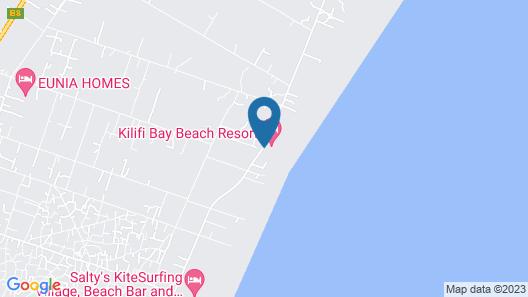 Kilifi Bay Beach Resort Map