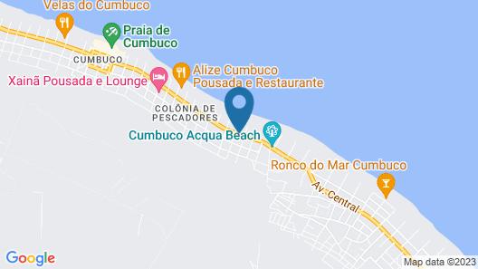 Carmel Cumbuco Resort Map