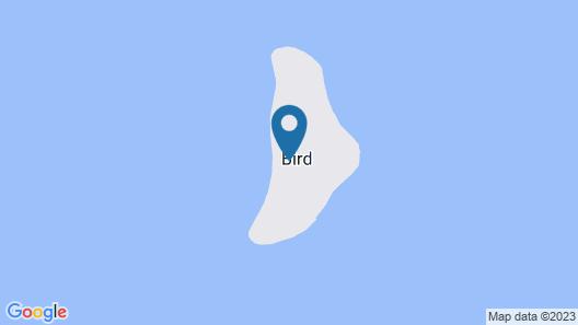 Bird Island, Seychelles - Private Island Villas Map