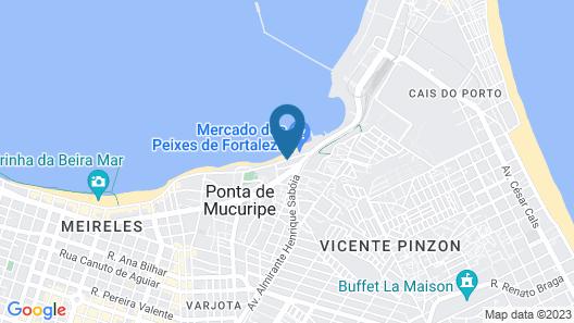 Sambura Praia Hotel Map
