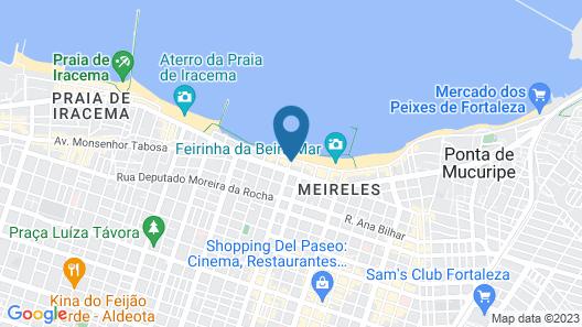 Mareiro Hotel Map