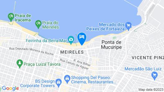 Hotel Beira Mar Map