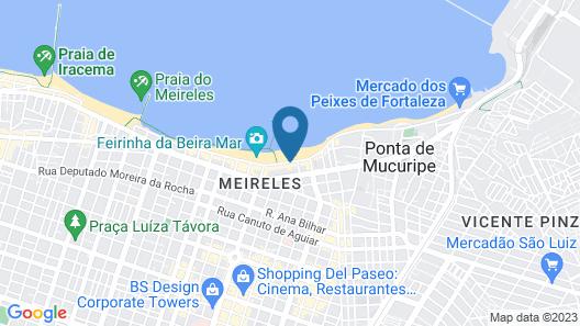 Seara Praia Hotel Map