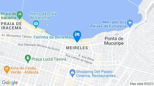 Praiano Hotel Map