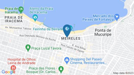 Praia Mansa Suite Hotel Particular Map
