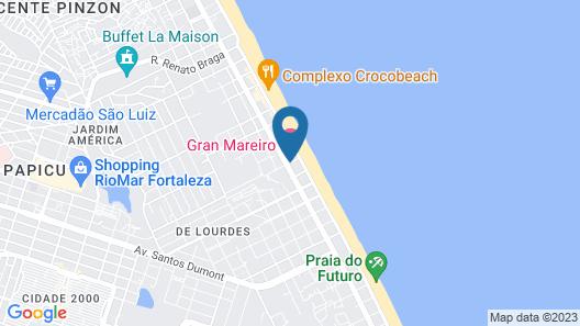 Gran Mareiro Hotel Map