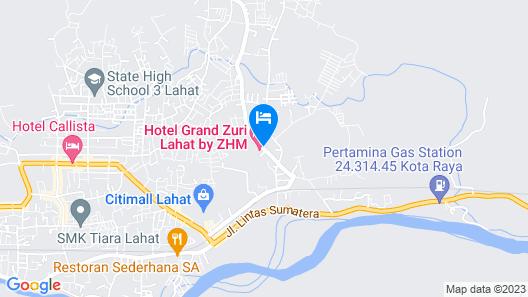 Grand Zuri Lahat Map