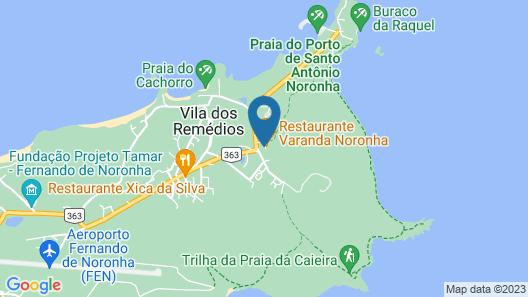 Paraíso Noronha Map